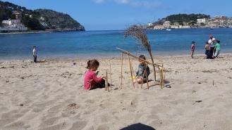 A disfrutar de la playa. pekesmallorca